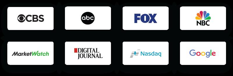 media outlet logos